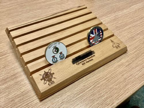 Personalized Challenge Coin holder
